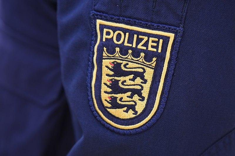 Ärmelwappen der Polizei Baden-Württemberg -