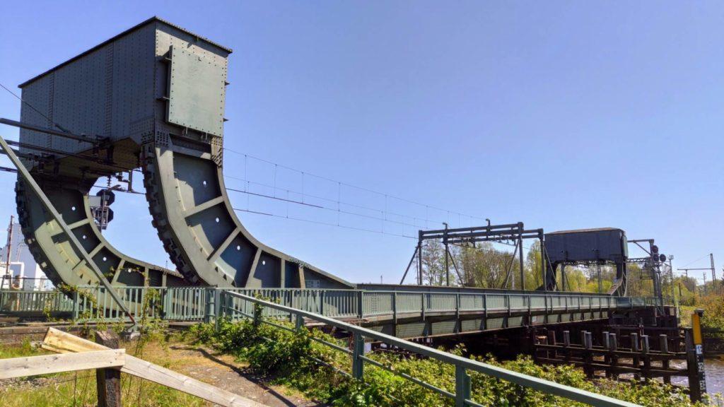 Eisenbahn Klappbrücke Oldenburg