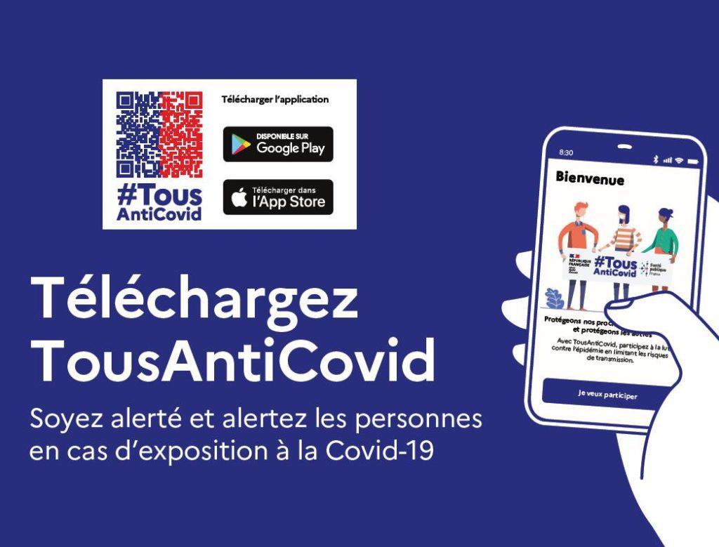 Tous Anti Covid - Coronavirus Tracing App in Frankreich