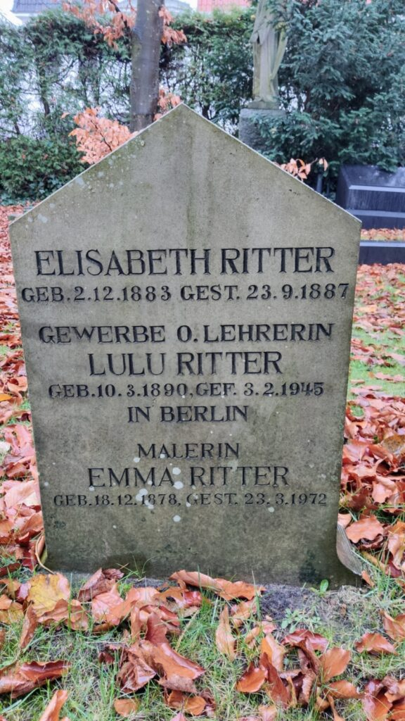 Grabstein Emma Ritter Oldenburg