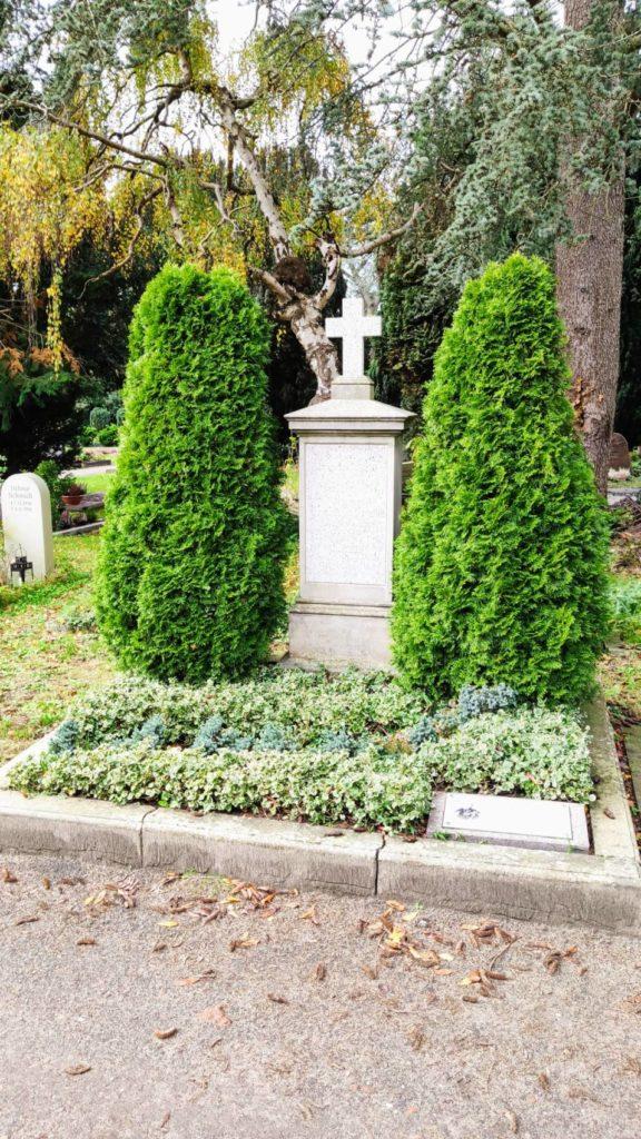 Grab von Johann Ludwig Mosle auf dem Gertrudenfriedhof in Oldenburg