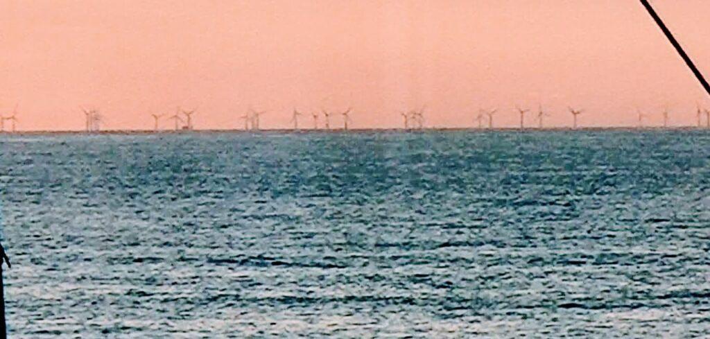 offshore Windpark Butendiek September 2021